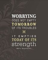Do not worry…
