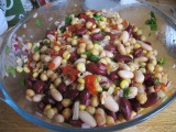 Easy Peasy Mixed Bean Salad Recipe