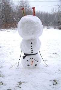 snowmaninheadstand